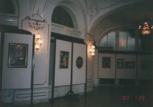Havasi Ica festmények a Stefánia Palotában