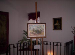 Havasi Ica kiállítás a Sziráki kastélyban