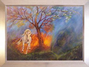 Szabadnak született című festmény