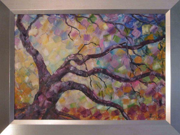 Vonzás és ébredés című festmény