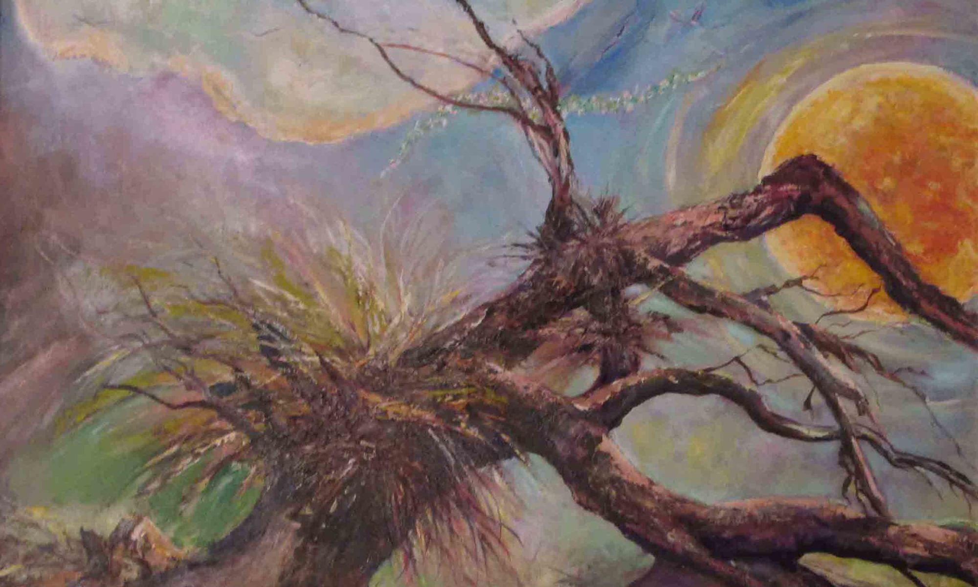 A festmény címe : Az igazság áll,a jóság térdel,a szépség röpül