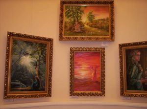 Főtér Galériában Havasi Ica festményei