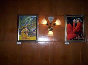 Havasi Ica festménykiállítás a Fészek Klubban