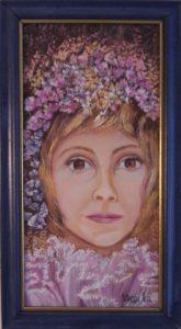 Ünnep című Havasi Ica született Markó Ilona festmény