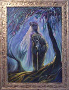 A varázsló álma című Havasi Ica festmény