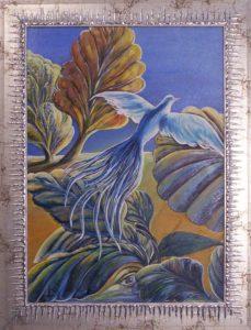 Egy új világ felé című Havasi Ica festmény