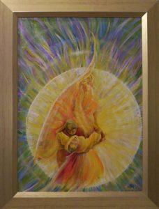 Naplegenda című Havasi Ica született Markó Ilona festmény