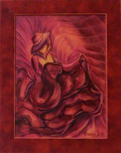 Ritmusos izzás című Havasi Ica született Markó Ilona festmény