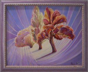 HÁRMAS VARÁZS című festmény Havasi Ica