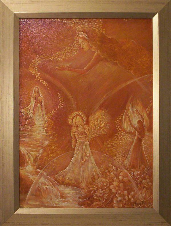 Festmény a létezésről Havasi Ica