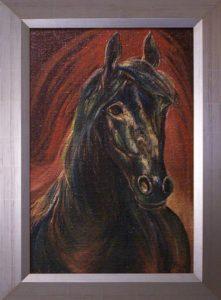 Kabardini című Havasi Ica született Markó Ilona festmény
