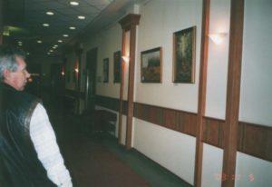 Margitszigeti Nagyszállóban Havasi Ica festmények