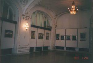 Stefánia Palotában megrendezett Havasi Ica festménykiállítás