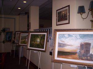 Normafa Szanatóriumban Havasi Ica festménykiállítás