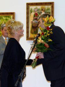 Havasi Ica és Szabó József polgármester