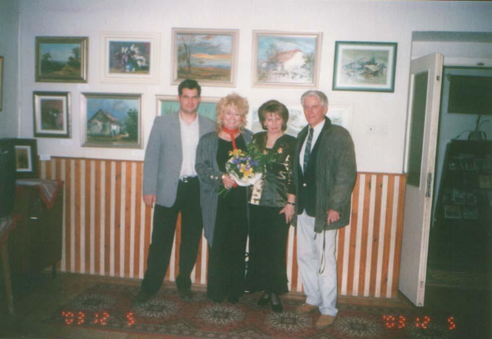 Közös festménykiállítás Táborfalván