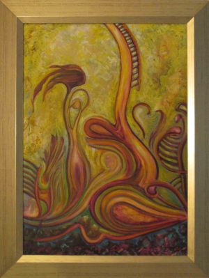 Havasi Ica festmény