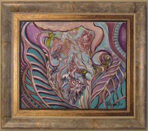 Festmények Havasi Icától Rezgésben a lélek