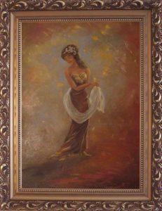Egyensúlyban című Havasi Ica született Markó Ilona festmény